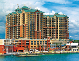 You will find Spectacular views of the Destin Harbor, East Pass, Destin Bridge, Crab Island and the Gulf of Mexico!