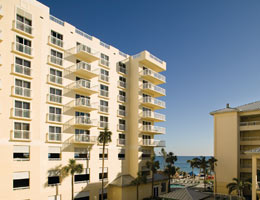 You will enjoy the view & stay at this resort; located across from Pompano Beach!